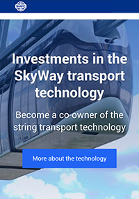 Sky World Community is the official partner of the SkyWay Group of Companies. Crowdfunding platform through which anyone can invest in the development of the innovative SkyWay transport.
